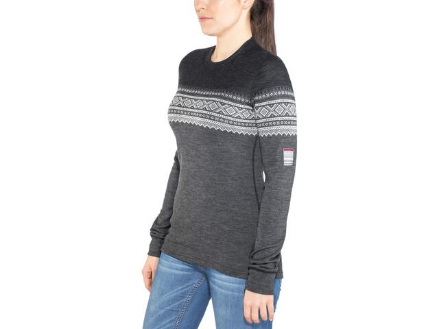 e275c1fd Aclima DesignWool Marius Longsleeve Shirt Women grey at Addnature.co.uk